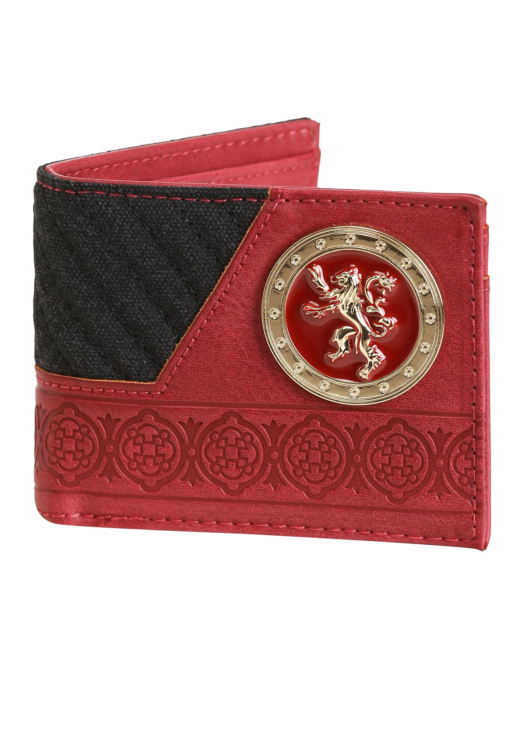 House Lannister Bi Fold Wallet From Game Of Thrones