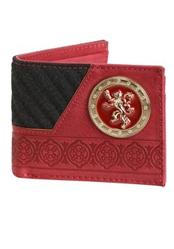 Game of Thrones House Lannister Bi-Fold Wallet