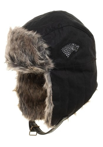 Game of Thrones House Stark Faux Fur Trapper Winter Cap