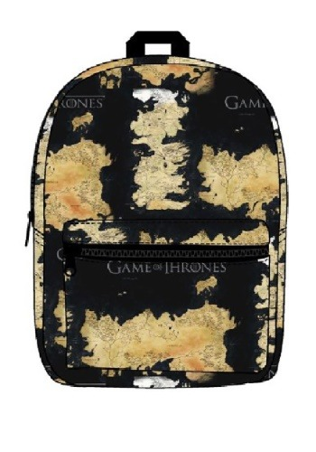 Game of Thrones Westeros and Essos Map Backpack Bag - 41b94003fcd84d4 , Game-of-Thrones-Westeros-and-Essos-Map-Backpack-Bag-12070302 , Game of Thrones Westeros and Essos Map Backpack Bag , Bioworld Merchandising / Independent Sales , 12070302 , Apparel & Accessories > Game of Thrones Clothing , BWBQ74IEG