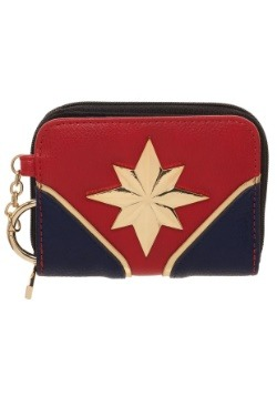 Captain Marvel Mini Bifold Wallet