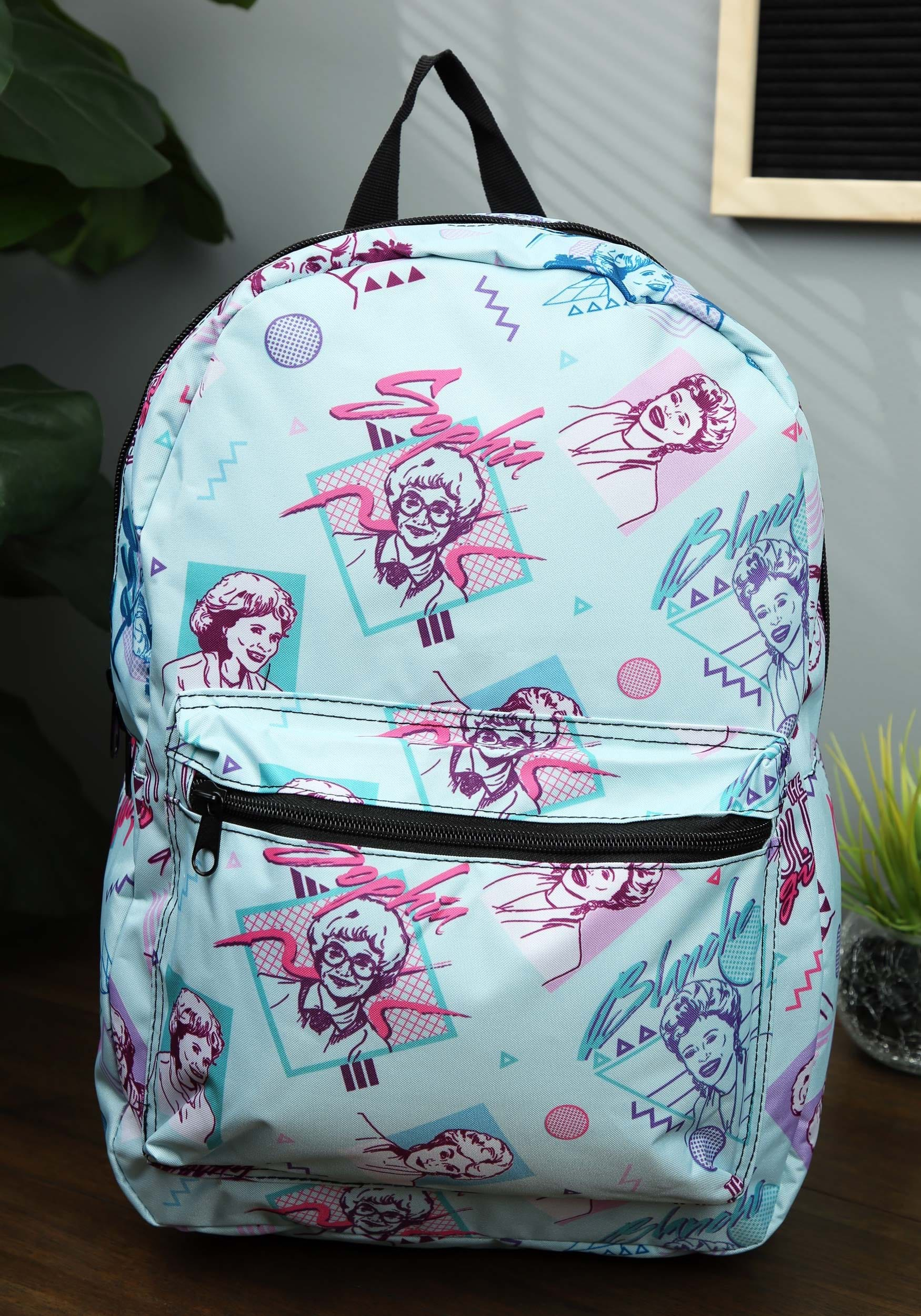 d52a2a5681cc Golden Girls Multicolor All Over Print Sublimated Backpack