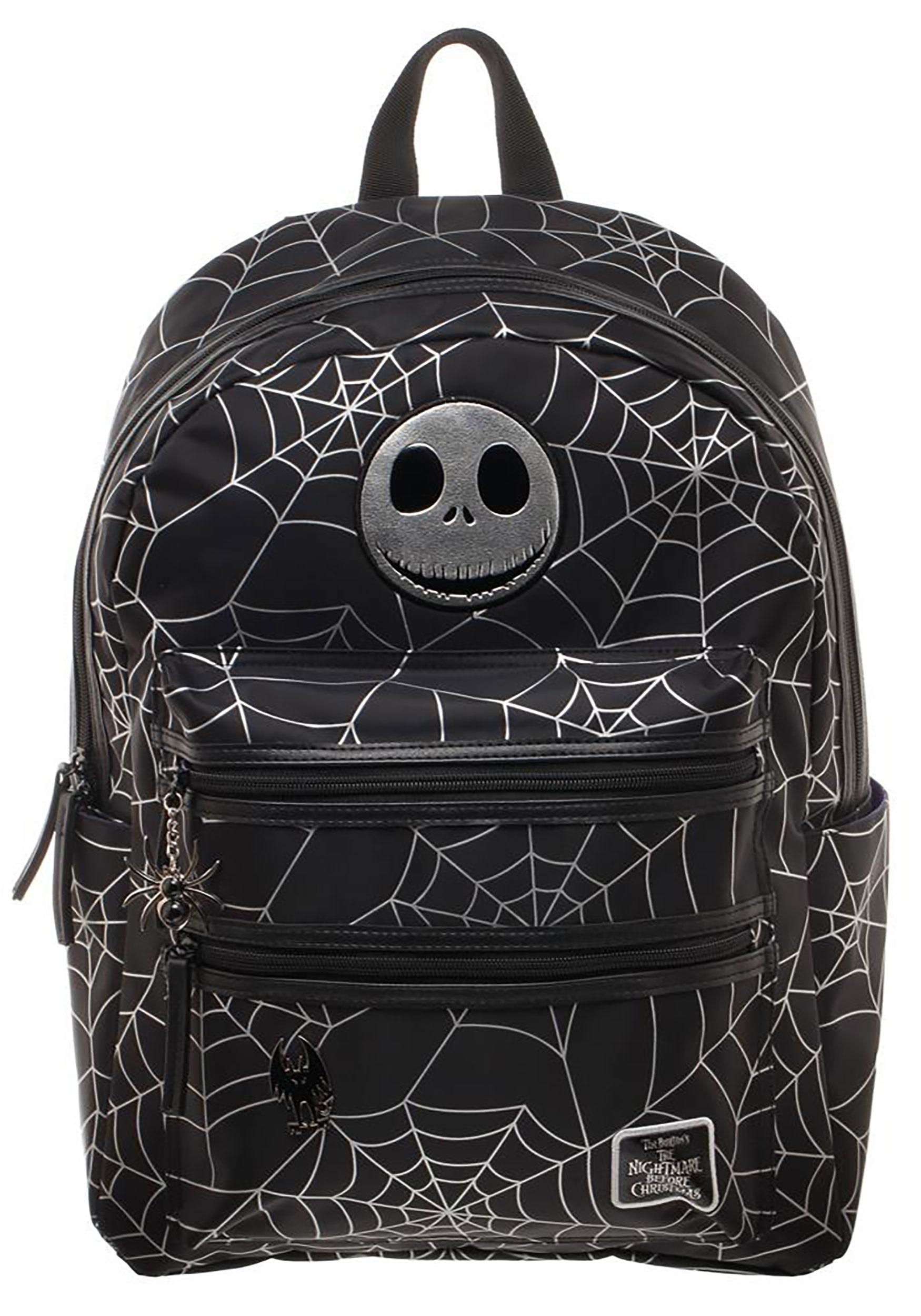 nightmare before christmas jack spider backpack - Nightmare Before Christmas Backpack