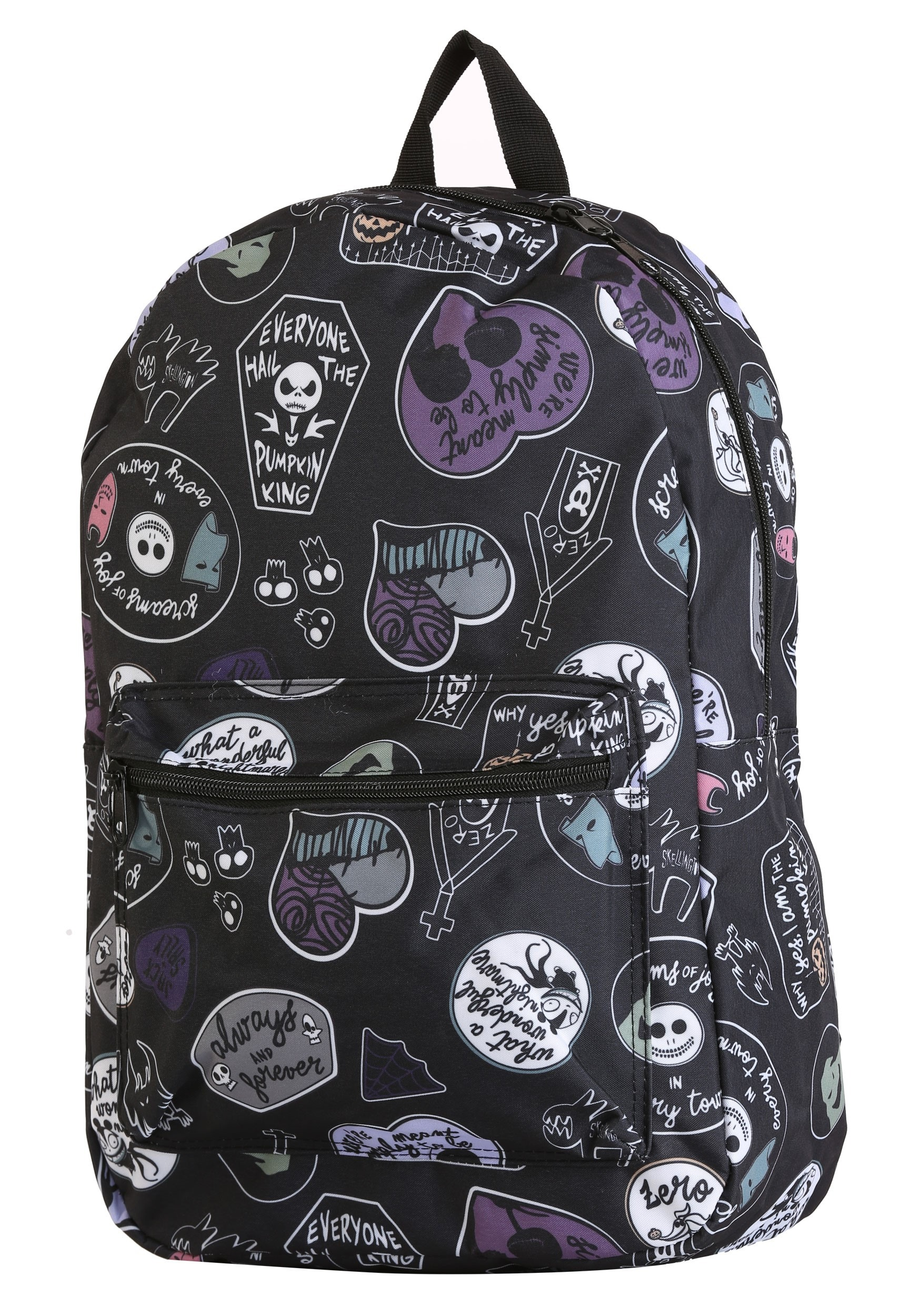 Nightmare Before Christmas All Over Print Backpack Bag
