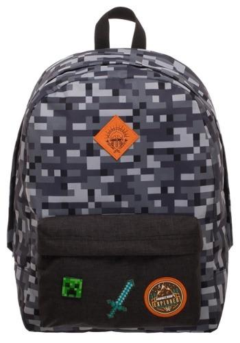 Minecraft Camo Backpack