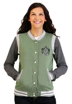 Harry Potter Slytherin Women's Varsity Jacket update1