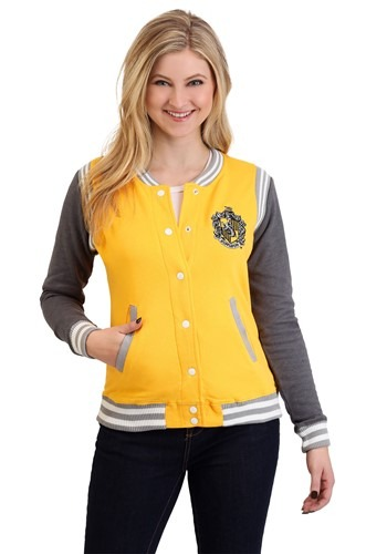 Harry Potter Hufflepuff Women's Varsity Jacket update1