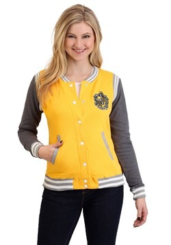 Harry Potter Hufflepuff Womens Varsity Jacket