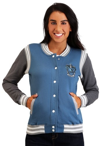 Harry Potter Women's Ravenclaw Varsity Jacket update1