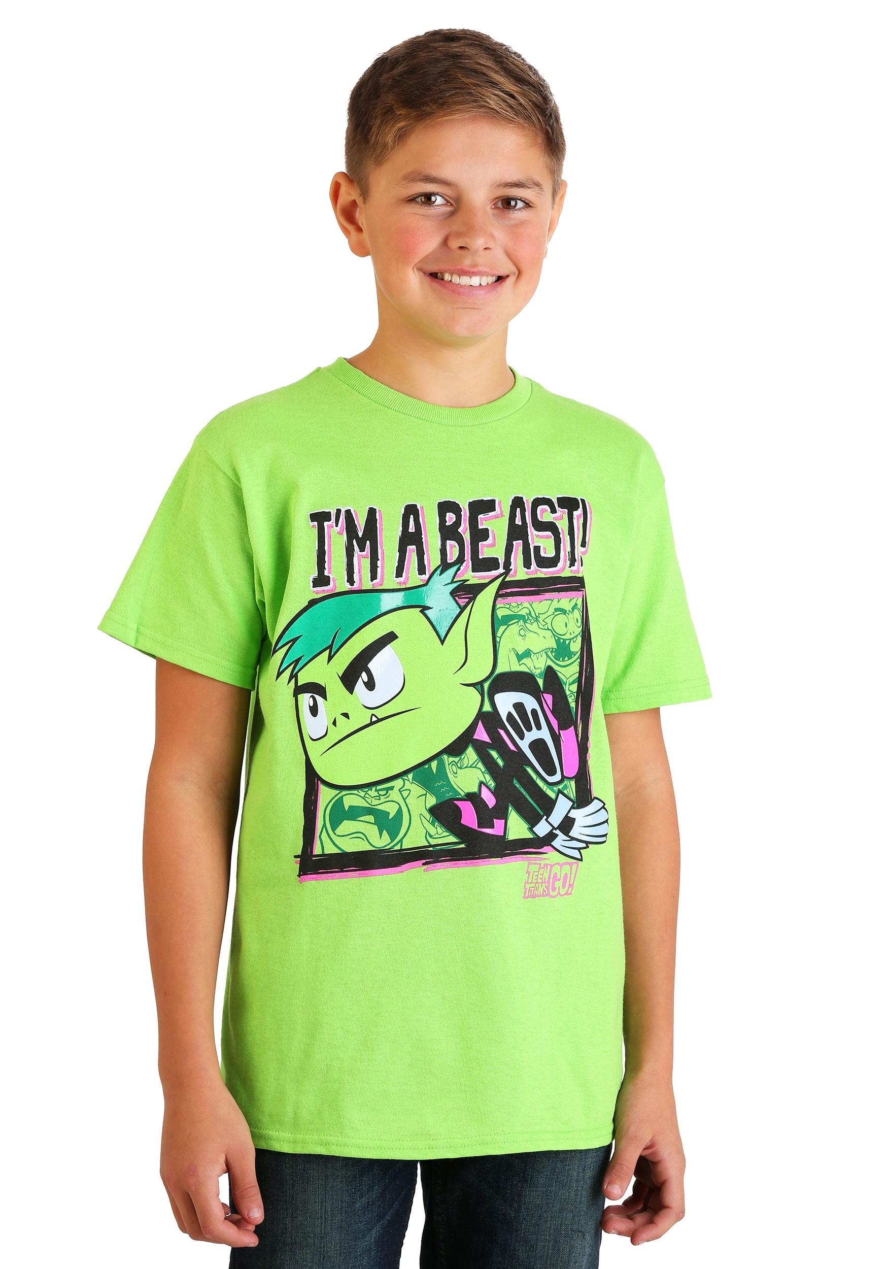 5//6 7 Teen Titans Go Cartoon GO GO GROUP Licensed T-Shirt KIDS Sizes 4