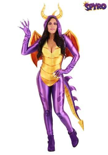 Spyro the Dragon Women's Costume Jumpsuit Main