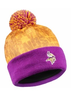 Minnesota Vikings Team Logo Light-Up Beanie