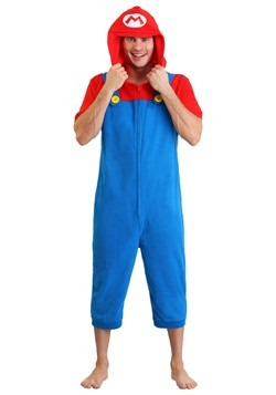 Men's Mario Cosplay Romper Update Main