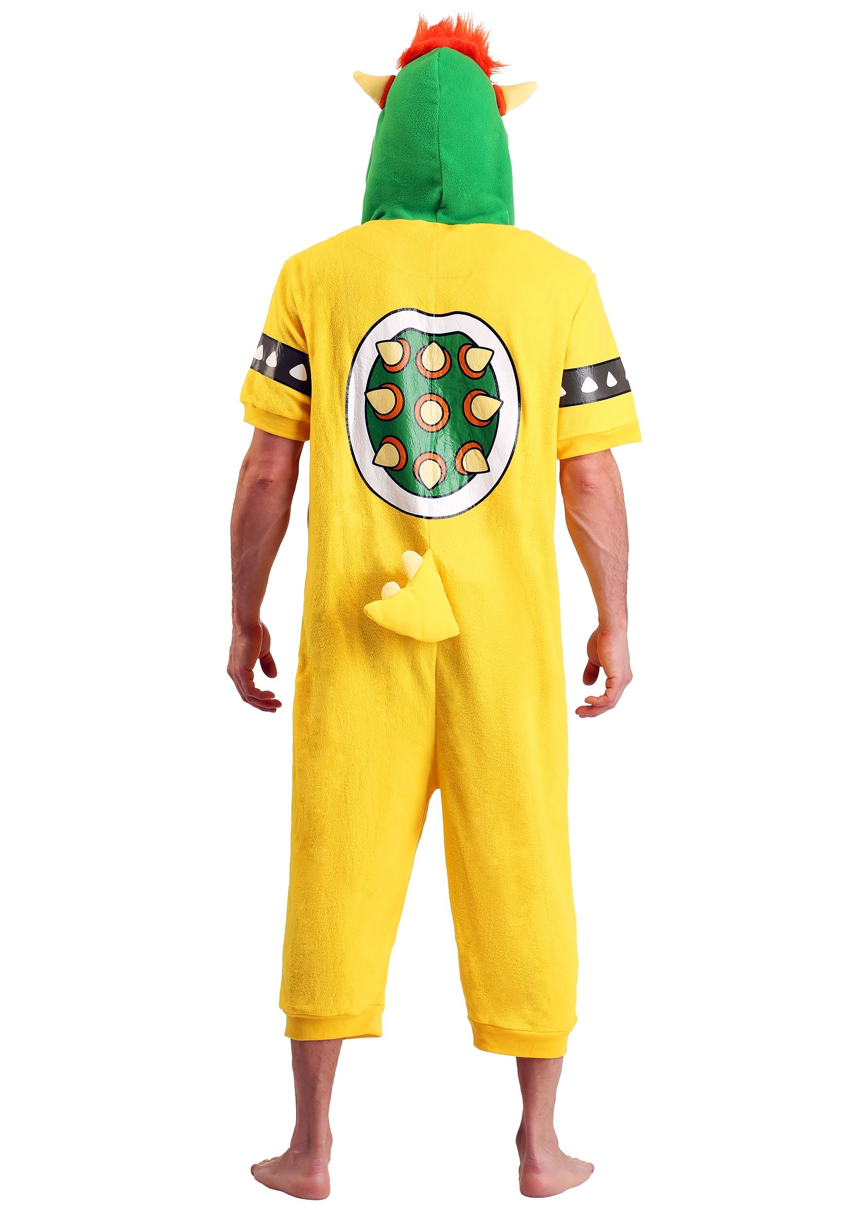 06897f4b752 Bowser Cosplay Romper for Adults