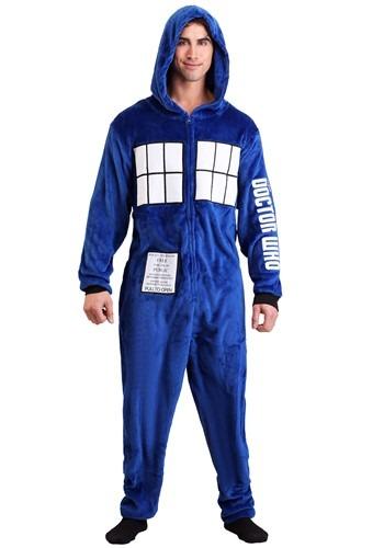 Doctor Who Men's Tardis Union Suit