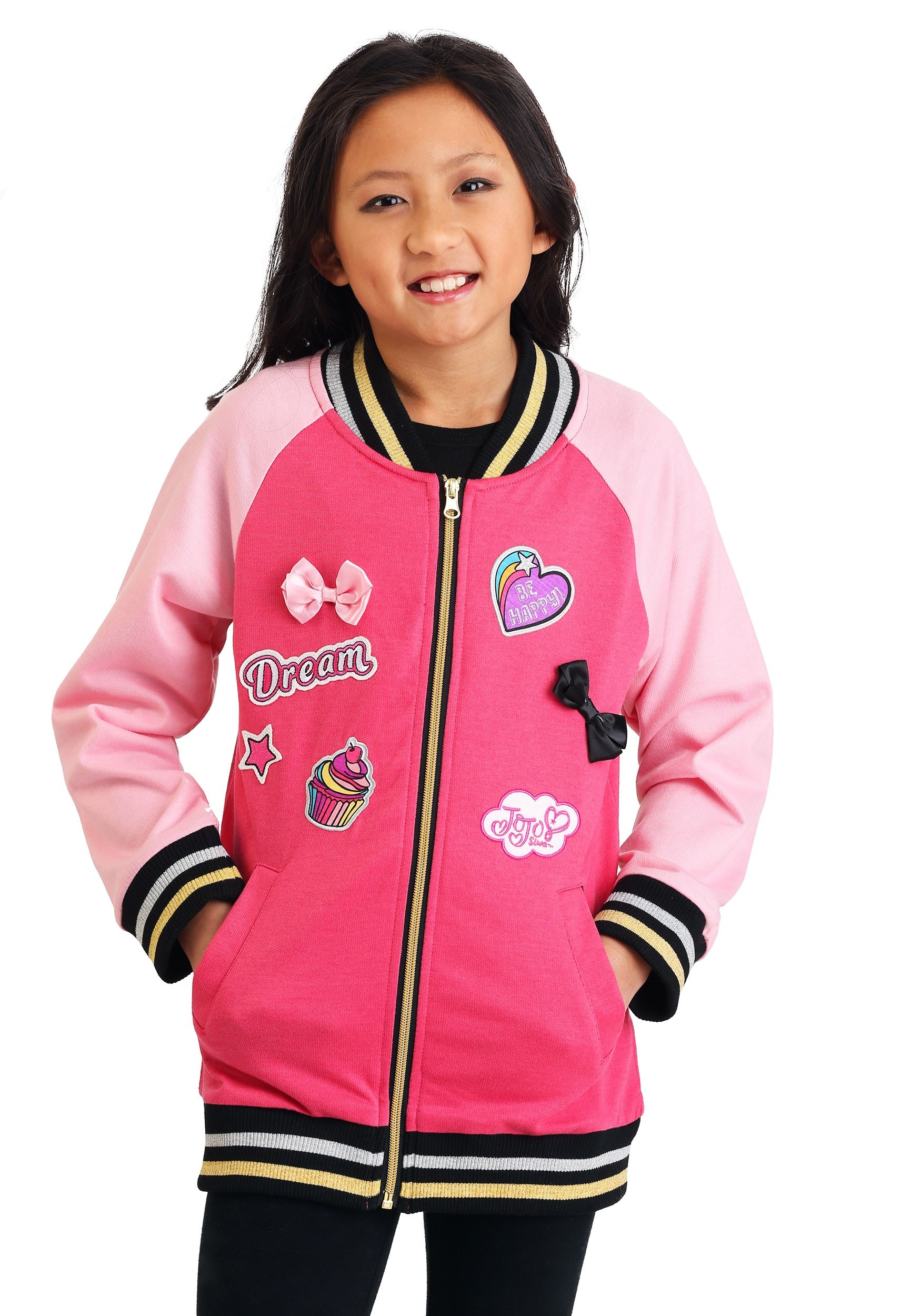 Girls Never Quit JoJo Siwa Varsity Jacket