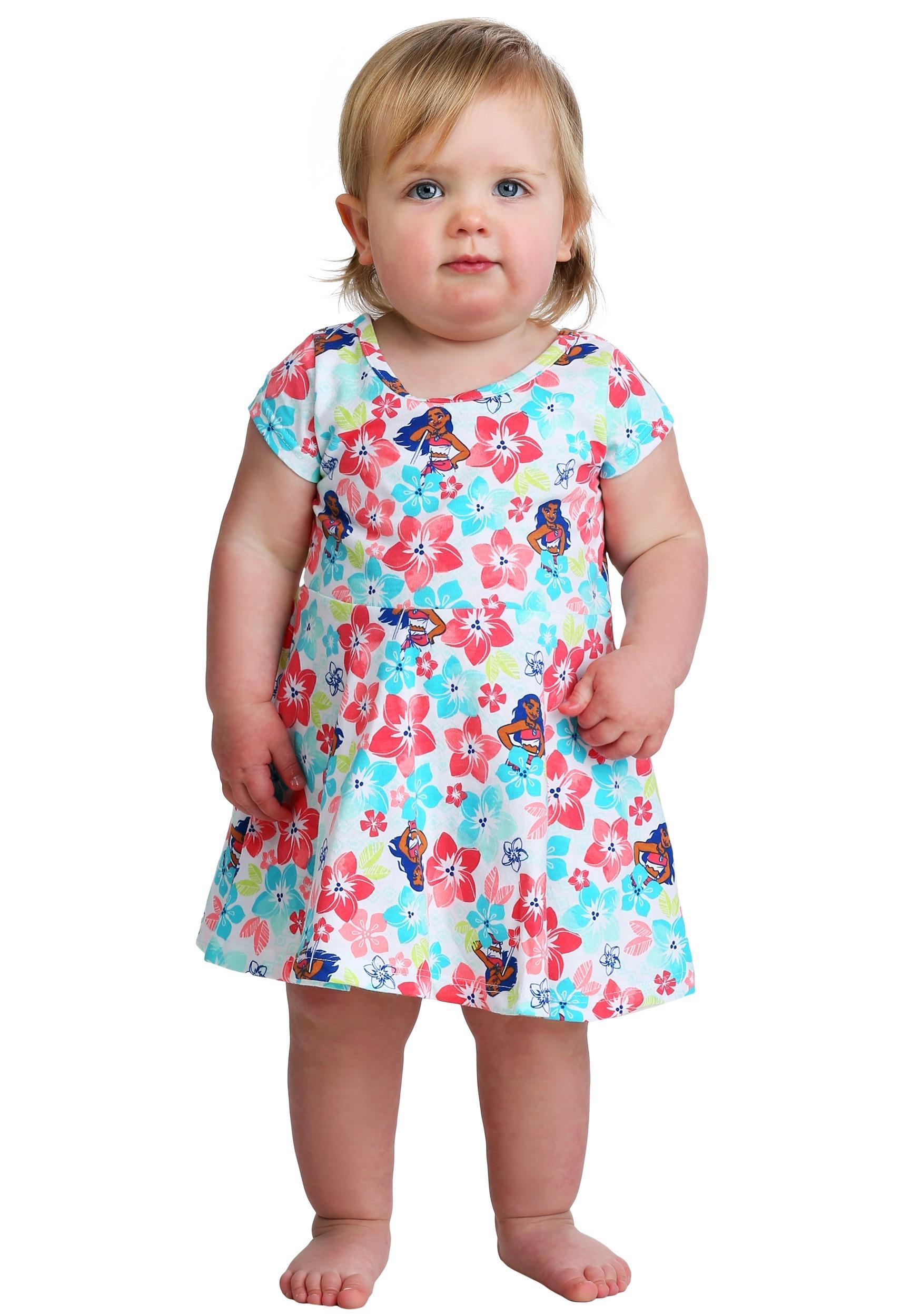 Disney Little Girls Moana Island Girl 2 Piece Top and Skirt Set