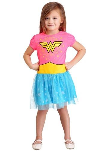 Wonder Woman Fashion Dress for Girls