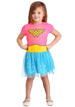 Wonder Woman Fashion Dress for Girls