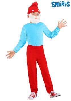 The Smurfs Child Papa Smurf Costume 2