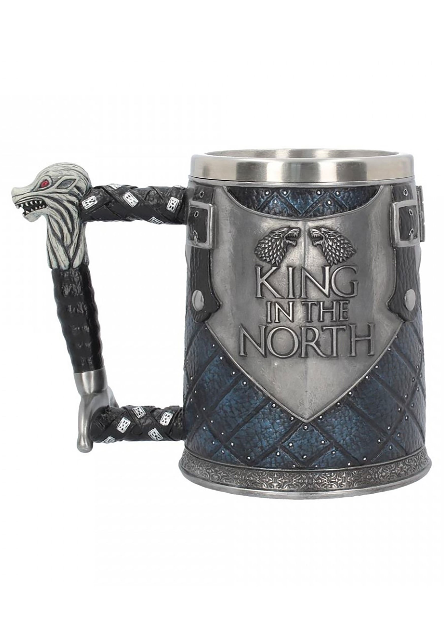 king in the north game of thrones tankard