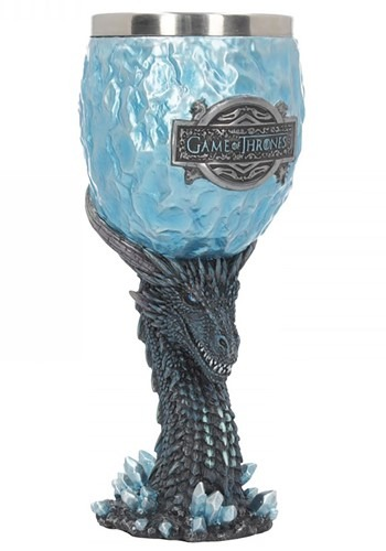 Game of Thrones 18.5cm Viserion White Walker Goblet