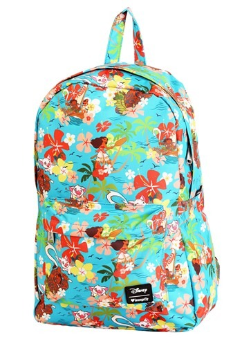Loungefly Disneys Moana Floral All Over Print Backpack