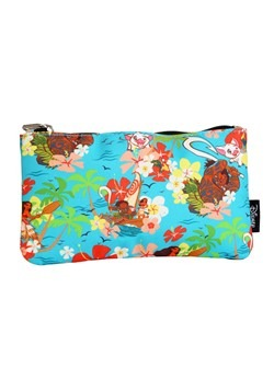 Disneys Loungefly Moana All Over Floral Print Pencil Case
