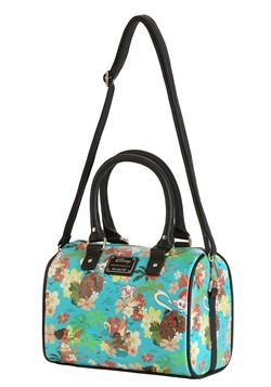 Loungefly Disneys Moana All Over Print Teal Tote Bag