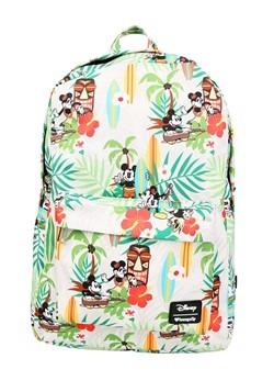Loungefly Disney's Mickey & Minnie Mouse Tiki Print Backpack