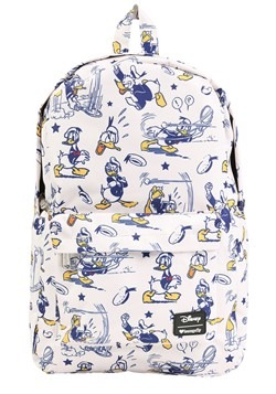 Loungefly Disneys Donald Duck Print Backpack