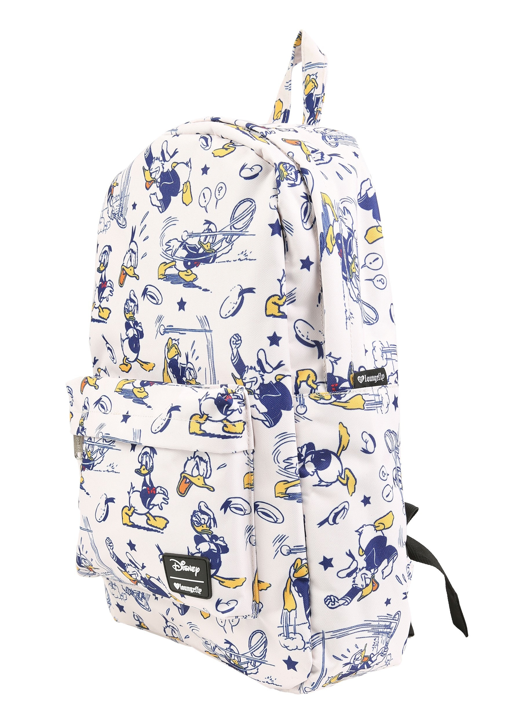 496d1549fa0 Loungefly Disneys Donald Duck Print Backpack Alt1