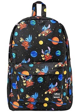 Disney's Lilo & Stitch Loungefly Space Stitch Print Backpack