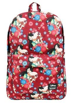 Loungefly Disneys Mulan Floral Print Backpack