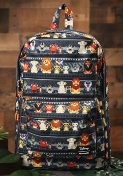 Loungefly Disney's The Lion King Characters Print Backpackm