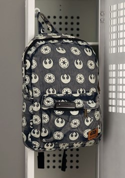 Loungefly Star Wars Rebel/Empire Repeating Print Backpack
