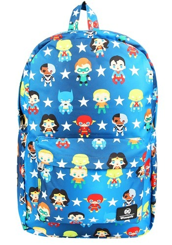 Loungefly DC Comics Justice League Characters Backpack