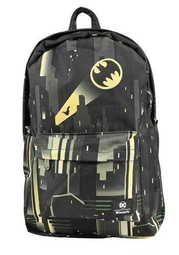 Loungefly DC Comics Batman Gotham City Bat-Signal Backpack