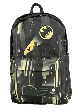 Loungefly DC Comics Batman Gotham City Bat-Signal Backpack