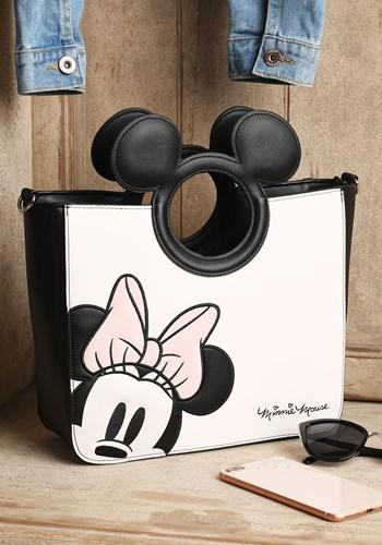 Loungefly Disney Minnie Mouse Faux Leather Bag w/ Crossbody