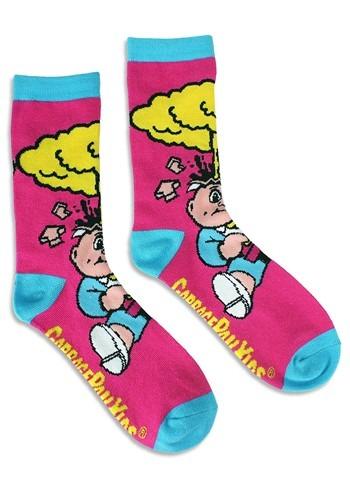 Adult Garbage Pail Kids Adam Bomb Socks