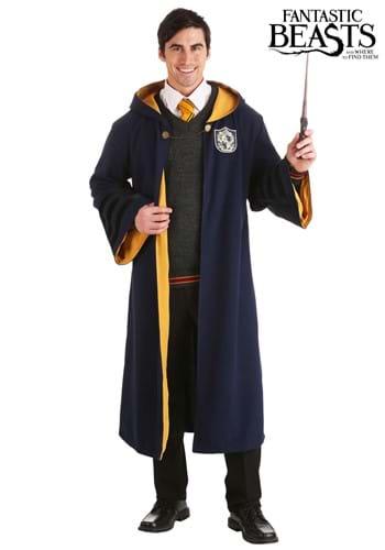 Vintage Harry Potter Hogwarts Hufflepuff Robe