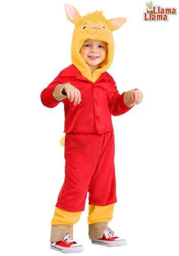 Llama Llama Toddler Red Pajama Costume