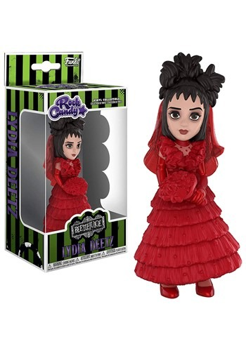 Rock Candy: Horror- Beetlejuice- Lydia (Red Wedding Dress)