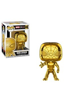 Pop! Marvel: Marvel Studios 10- Iron Spider Chrome