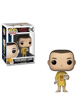 Pop! Television: Stranger Things- Eleven in Burger T-Shirt
