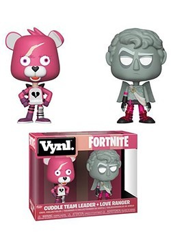 Vnyl: Fortnite- Cuddle Team Leader + Love Ranger Figures