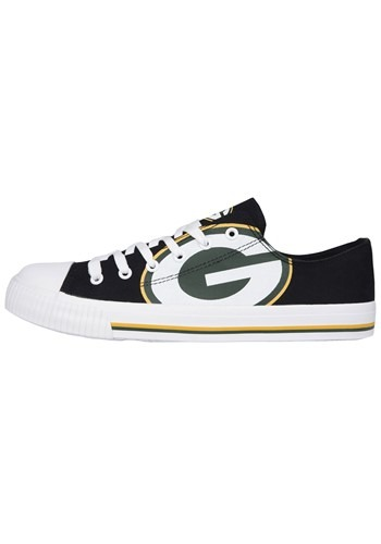 Green Bay Packers Low Top Canvas Shoes for Youth