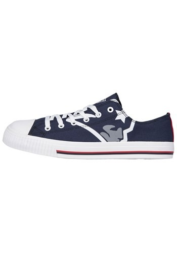 Youth New England Patriots Low Top Canvas Shoe