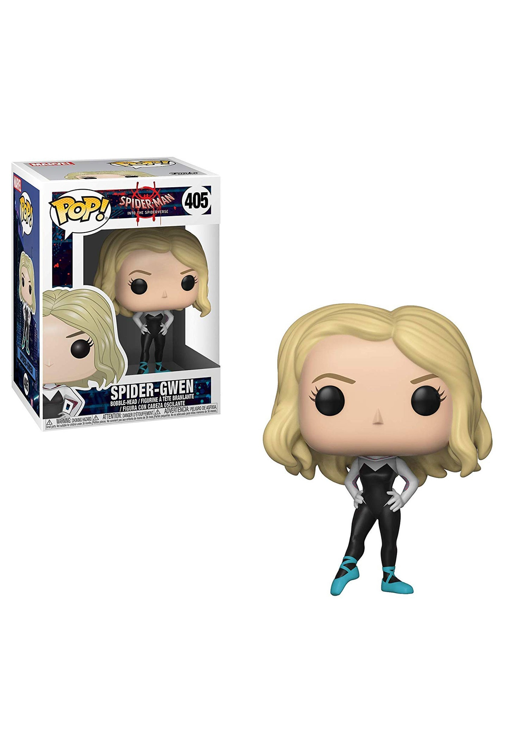 POP! Marvel: Spider-Man: Into the Spider-Verse: Spider-Gwen Bobblehead Figure